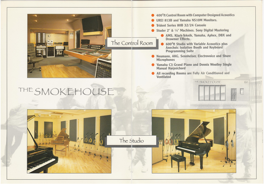 What the Smokehouse Looked like in 1985