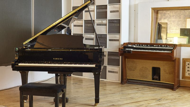 Our Piano and Hammond Organ